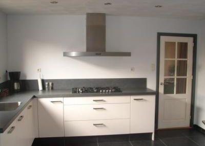 Keuken in Bunnik met innovatieve afzuiging